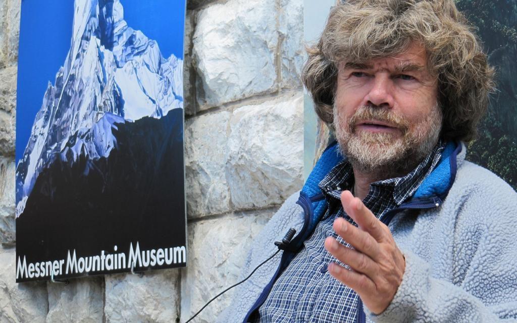 Reinhold Messner und der Nanga Parbat